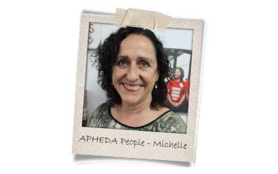 Union Aid Abroad-APHEDA People: Meet Michelle