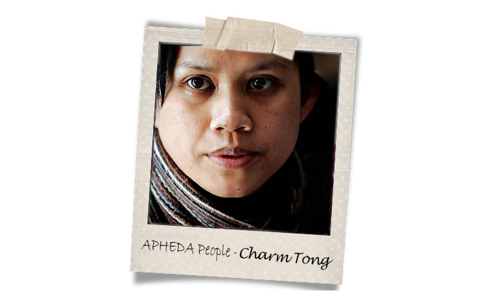 Union Aid Abroad-APHEDA People: Meet Charm Tong
