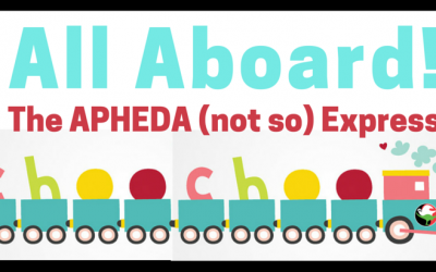 All Aboard the APHEDA (not so) Express!