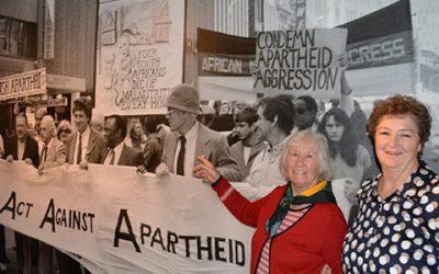 APHEDA features in Anti-Apartheid Exhibition