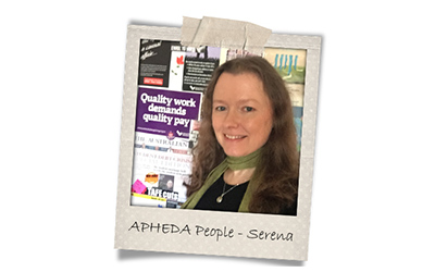 Union Aid Abroad-APHEDA People: Meet Serena