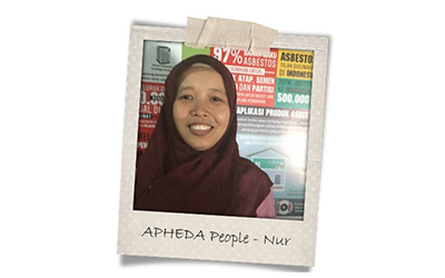 Union Aid Abroad-APHEDA People: Meet Nur