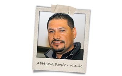 Union Aid Abroad-APHEDA People: Meet Vinnie
