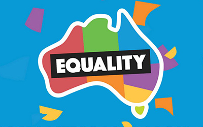 Union Aid Abroad–APHEDA says YES to marriage equality