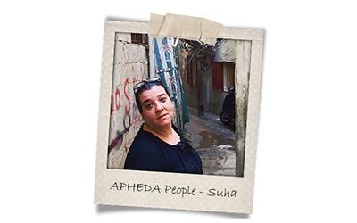 Union Aid Abroad-APHEDA People: Meet Suha