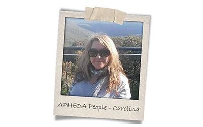 Union Aid Abroad-APHEDA People: Meet Carolina