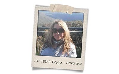 Union Aid Abroad-APHEDA People: Meet Carolina