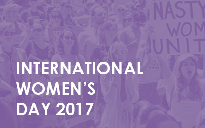 What are you going to do for International Women's Day?
