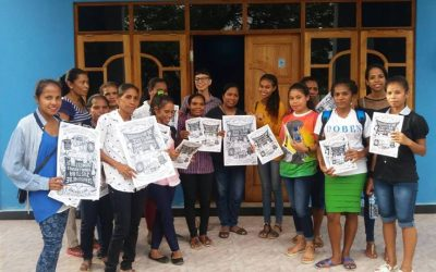 Working Women's Centre of Timor Leste Celebrate International Domestic Workers' Day