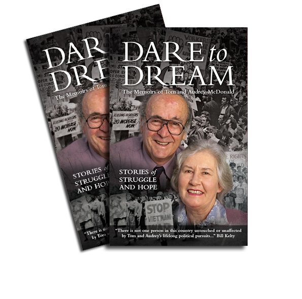 Buy Audrey & Tom's book, Dare to Dream