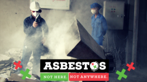 Asbestos not here not anywhere