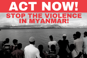 Take action! Tell the Australian government to use its influence to stop the violence in Myanmar