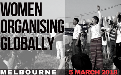 Melbourne event: Women Organising Globally Forum