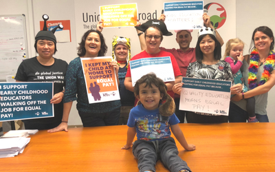 We support Early Childhood Educators!