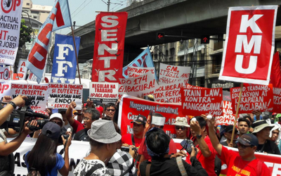 Unions join forces in Philippines to fight contractualisation