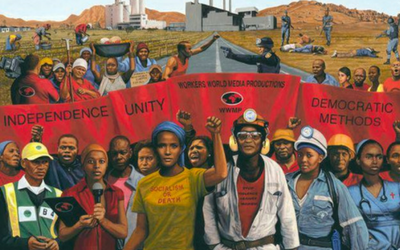 Workers' rights programs on South African radio and TV