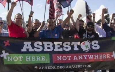 Indonesian ban asbestos campaigners 2018 Australian tour