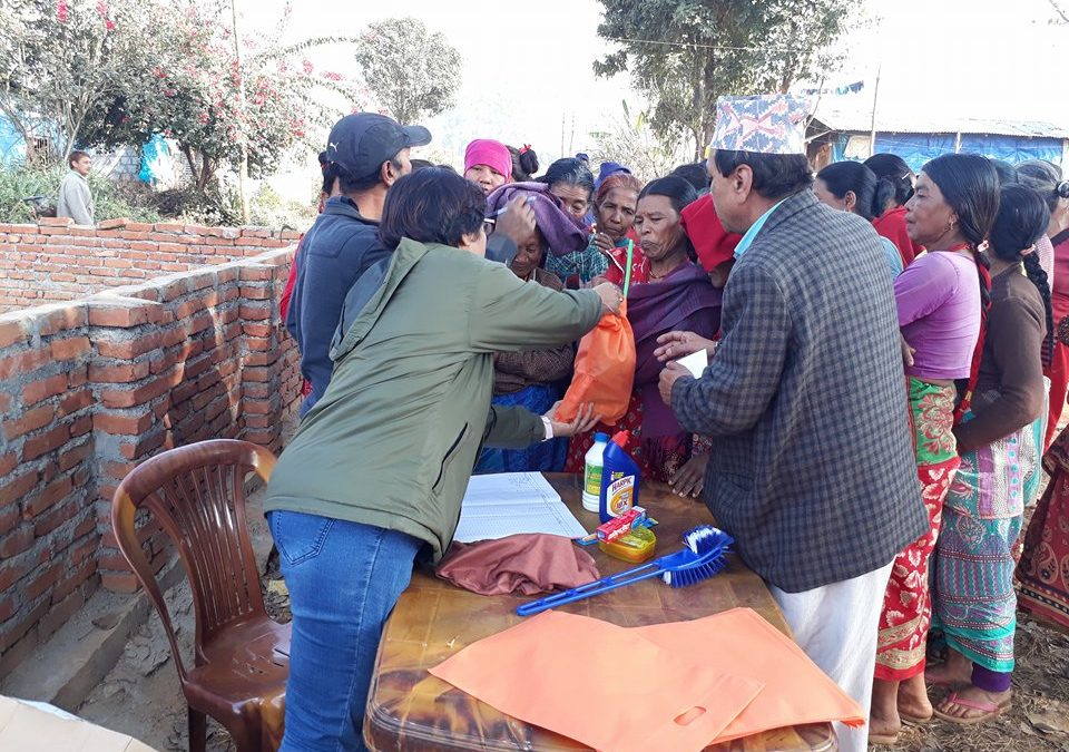 The Nepalese earthquake – three years on