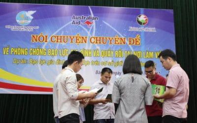 Ending gender based violence in Vietnam