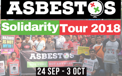 Asbestos Solidarity Tour 2018