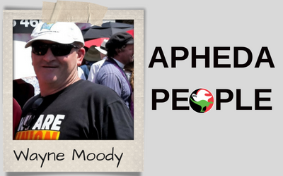 APHEDA People: Meet Wayne Moody