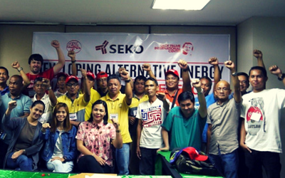 Building union power through clean energy in the Philippines