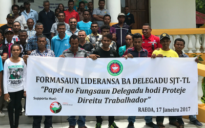Timor Leste: Unions continue to fight for workers' rights against a backdrop of instability