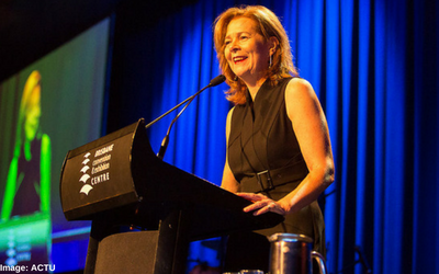 Meet the new ACTU President, Michele O'Neil