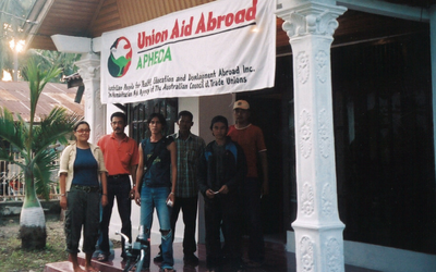 Unions and Peace in Aceh since the 2004 Tsunami