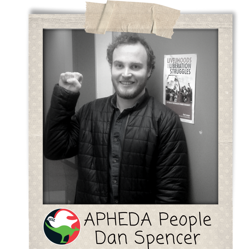 APHEDA People - Dan Spencer