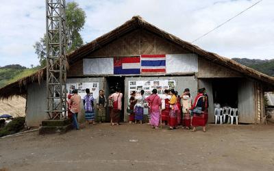 KWO organising trip to Umpiem Mai camp_August 2017