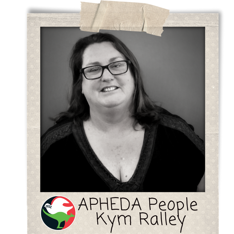APHEDA People - Kym Ralley